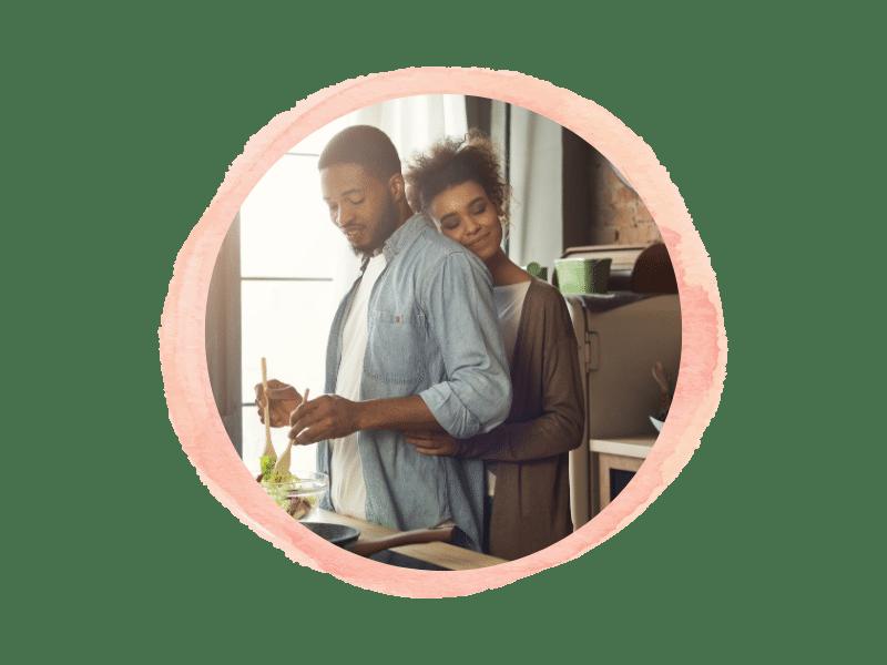 san diego couple discussing intrauterine insemination fertiltiy treatment